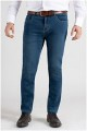 5-pocket elastische jeansbroek van Plus Man