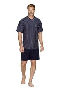 Korte mouw + korte broek gestreepte pyjama van Ceceba