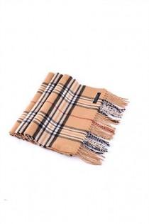 Geruite sjaal van Plus Man