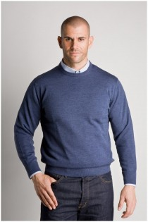 Wollen trui van Plus Man