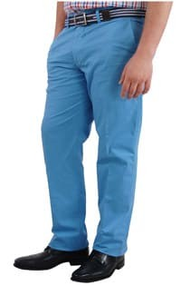 Casual Stretch broek van Plus Man