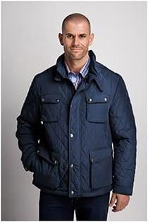 Sportieve winterjas van het merk Plus Man