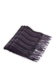 Gestreepte cashmink sjaal van Fiebig