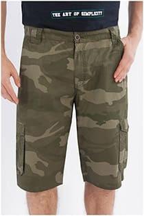 Cargo short camouflage van Koyote
