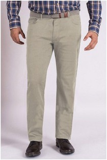 5-pocket chino broek met stretch van Koyote.