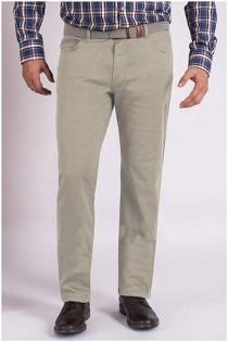 5-pocket chino broek met stretch van Koyote.