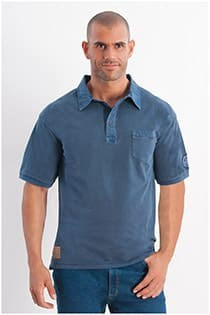 Garment dyed polo van Redfield