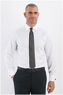 Uni dress overhemd Plus Man