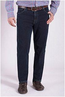 Elastische 5-pocket jeansbroek van Pionier.
