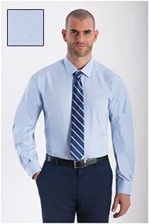 Plus Man dress overhemd structuurtje