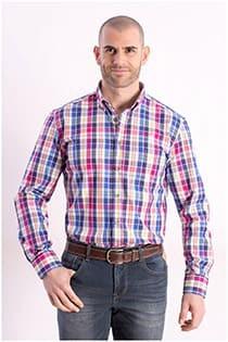 Katoenen lange mouw overhemd Carlos Cordoba