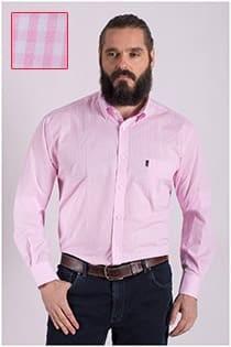 Plus Man casual overhemd ruitje