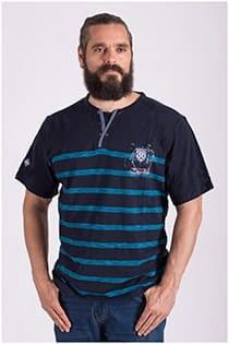 Gestreept korte mouw t-shirt van Forestal