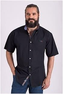 Uni korte mouw overhemd Redfield