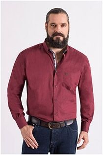 Uni lange mouw overhemd Carlos Cordoba.