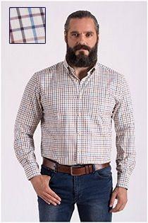 Lange mouw geruiten overhemd Carlos Cordoba