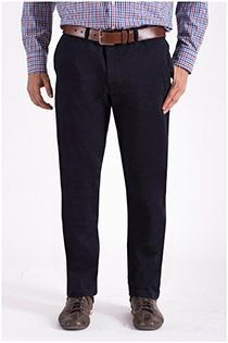 Stretch chino broek van Plus Man.