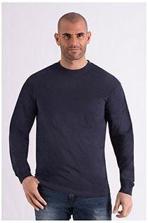 Katoenen t-shirt met lange mouw van Redfield