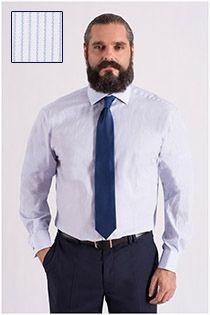 Extra lang dress overhemd van Plus Man