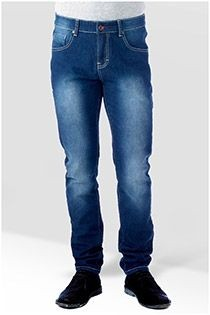 5-pocket stretchjeans van D555