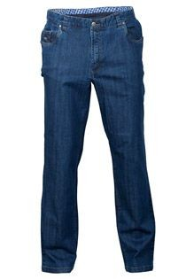 AANBIEDING: 5-pocket stretch-jeansbroek van Luigi Morini.