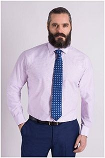 Business overhemd van Plus Man