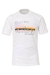 Korte mouw t-shirt Casamoda