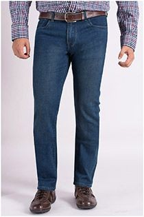 5-pocket jeansbroek van Plus Man