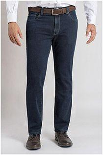 Elastische 5-pocket jeansbroek Pionier