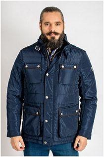 Sportieve jas met grote zakken van het merk Plus Man