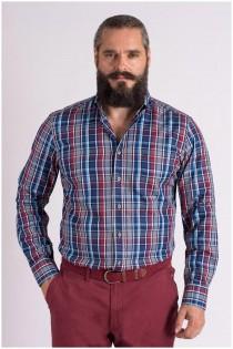 Ruiten lange mouw overhemd van Casa Moda