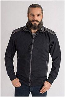 Katoenen jack van KAM Jeanswear