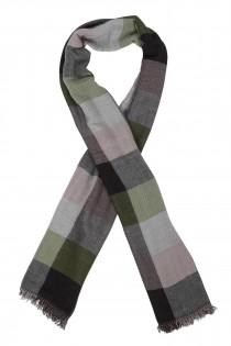 AANBIEDING: Ruiten sjaal van Casamoda.
