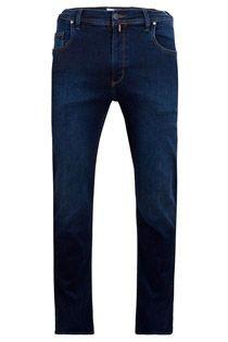AANBIEDING: 5-pocket elastische jeans van Pionier