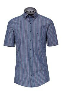 Korte mouw gestreept overhemd van Casamoda