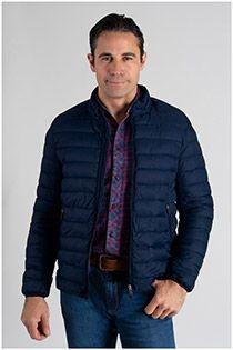 Gewatteerde jas van Plus Man