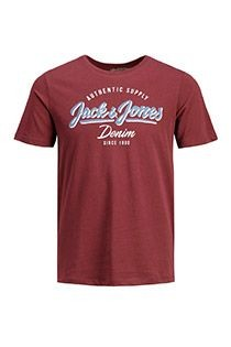 Korte mouw t-shirt van Jack & Jones.