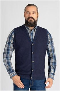 Meantime mouwloos vest