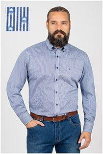 Casamoda lange mouw overhemd patroontje