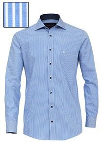 Gestreept strijkvrij dressoverhemd van Casamoda