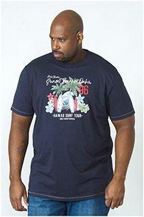 D555 korte mouw T-shirt