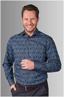Bedrukt lange mouw overhemd van GCM Originals
