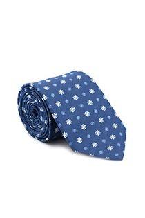 Gedessineerde zijden stropdas van Plusman
