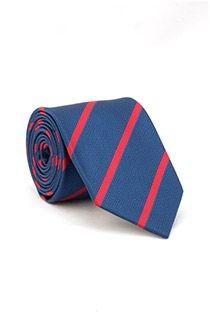 Gestreepte EXTRA LANGE stropdas van Plusman