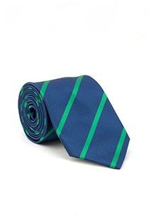 Gestreepte stropdas van Plusman