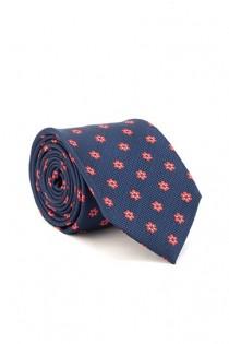 Bedrukte stropdas van Plusman