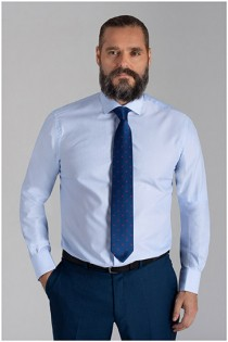 Extra lang dressoverhemd van Plusman