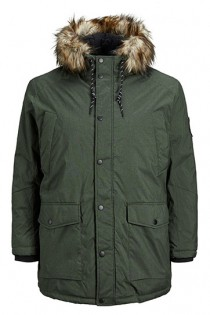 Winterjas met capuchon van Jack & Jones