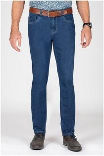 Elastische jeansbroek van Plusman