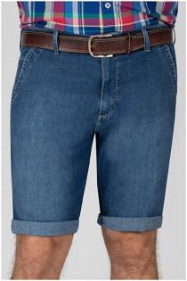 5-pocket jeansbermuda van Pionier